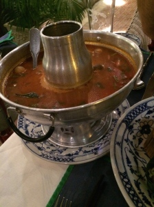 Tom Yum from the restaurant Wok Republic in Siem Reap, Cambodia